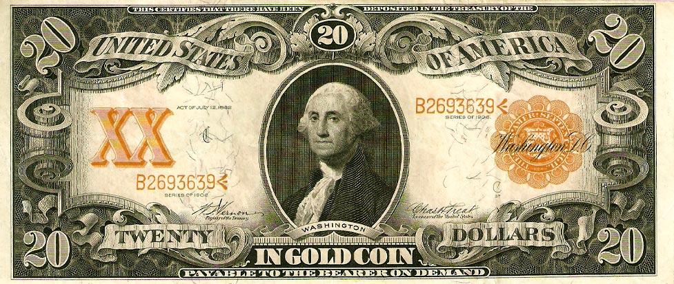 My U S Paper Money Collection Twenty Dollar Bills